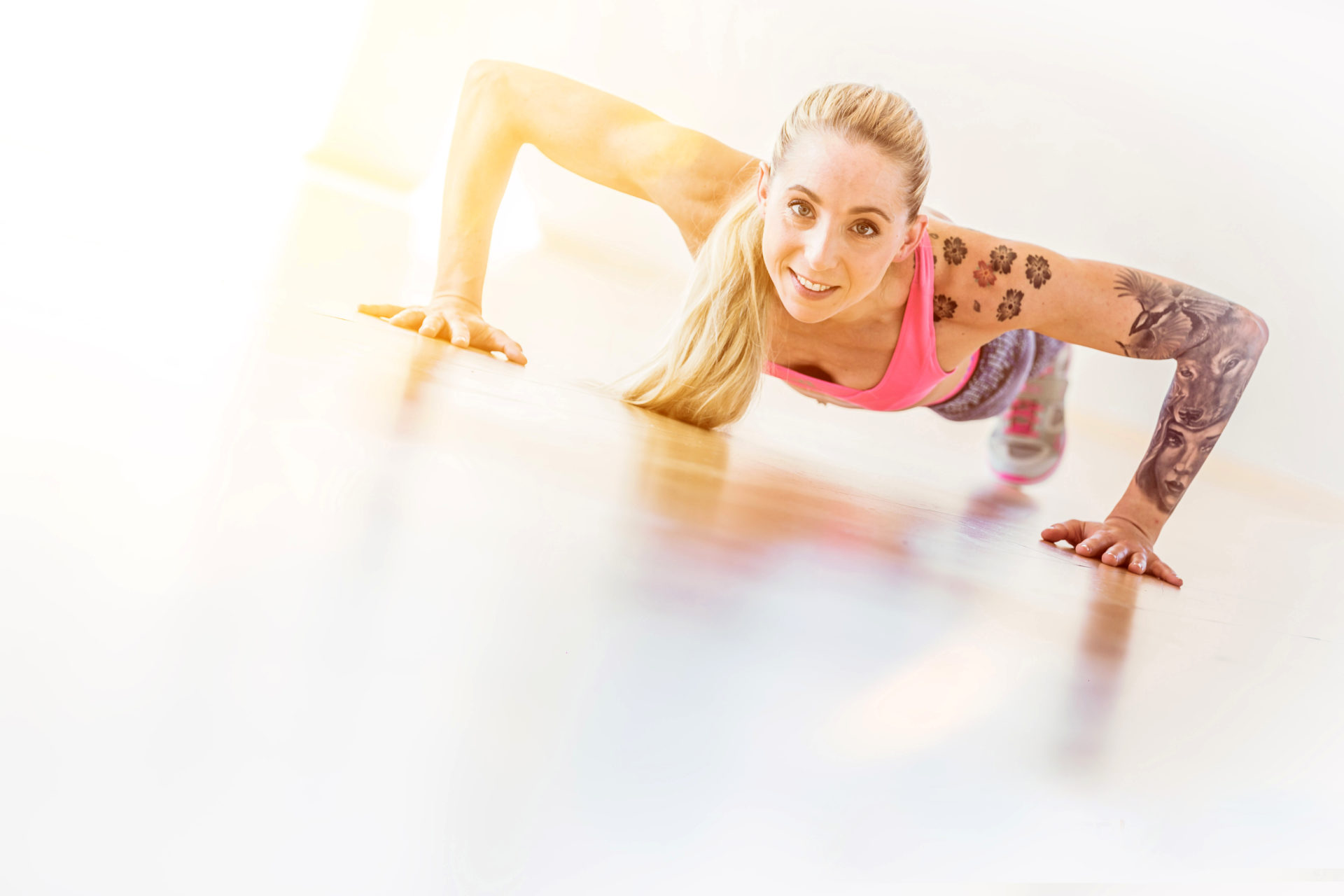 Fitness Portraits SportFoto: Thomas Niedermueller / www.niedermueller.de