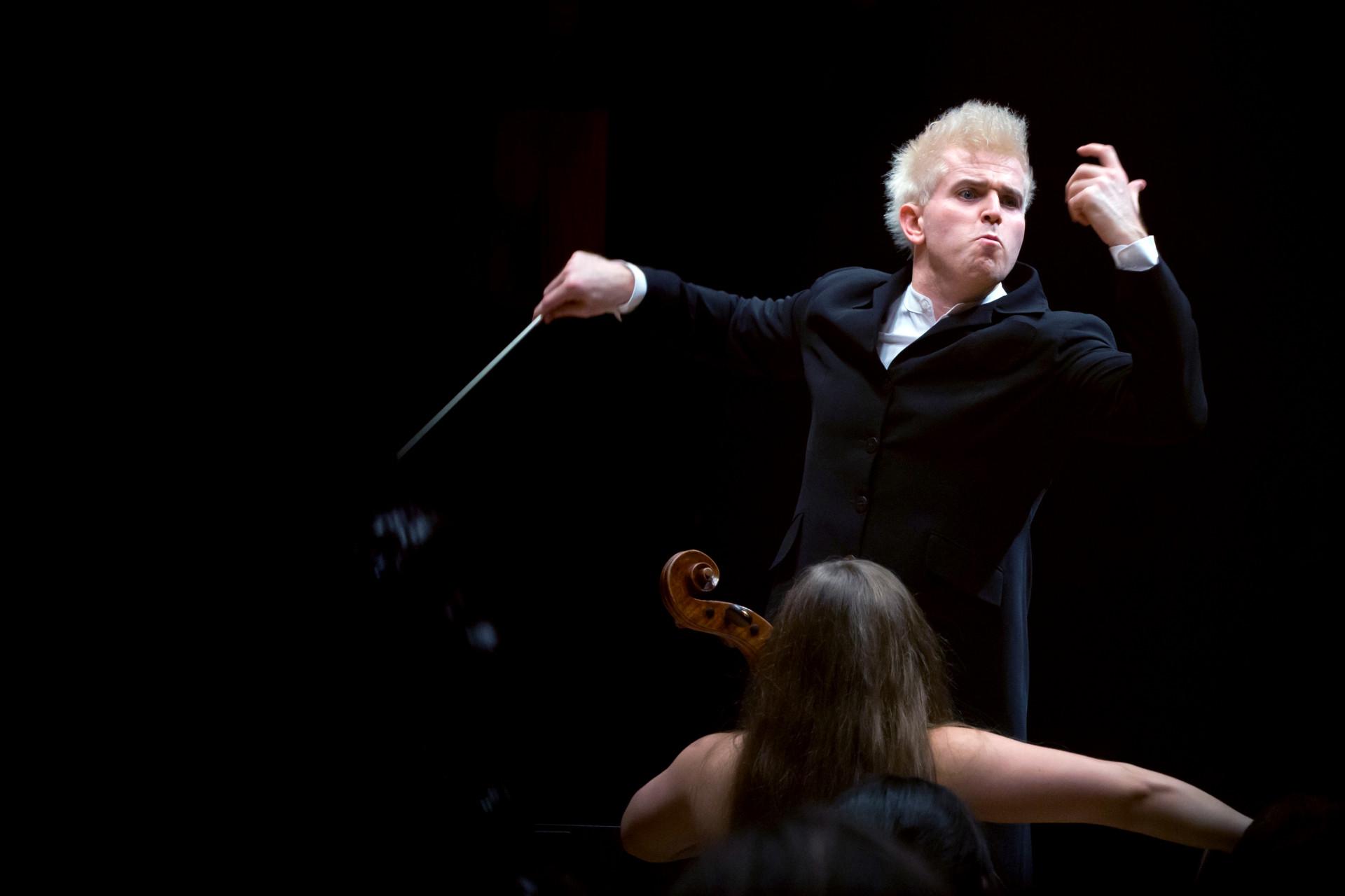 Dirigent Dan Ettinger  , Stuttgarter Philharmoniker