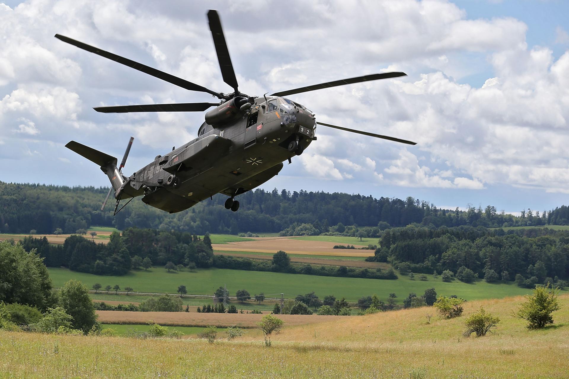Sikorsky CH-53 Kommando Spezialkräfte