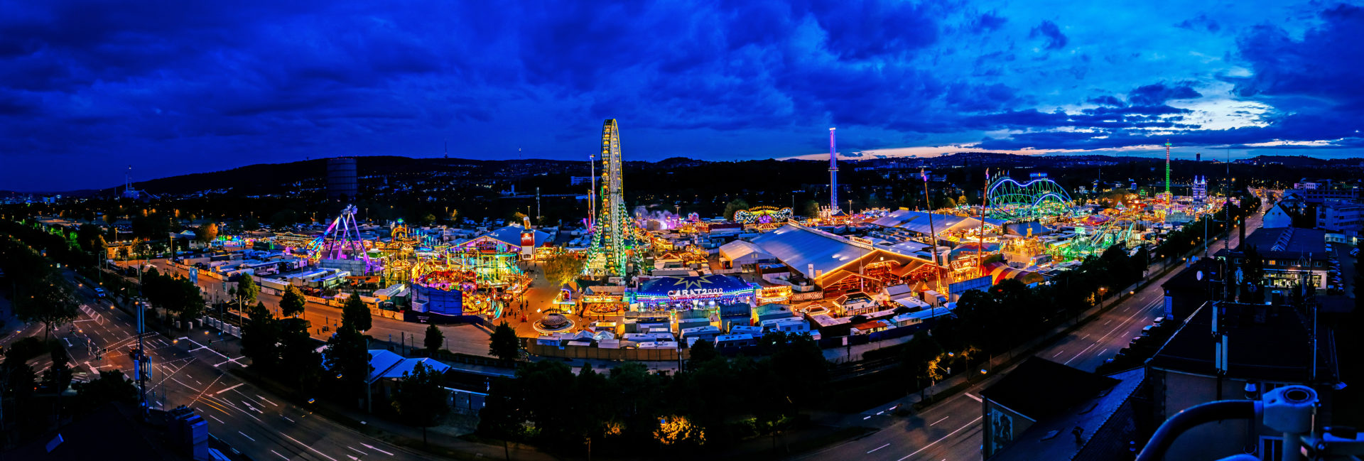 Fruehlingsfest Panorama