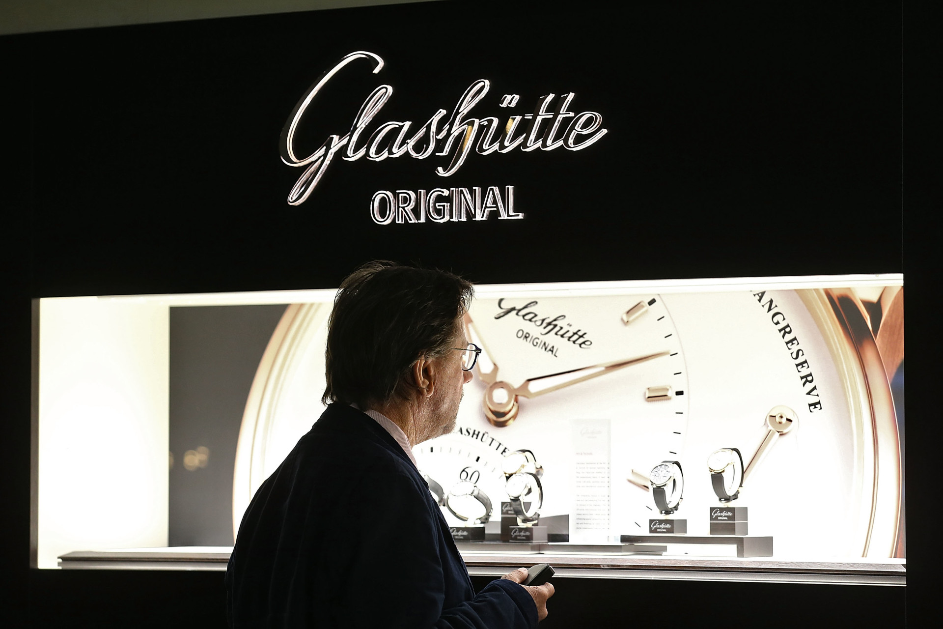 Baselworld, Glashütte Original Messestand